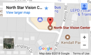 Location north star Vision Center Google Maps